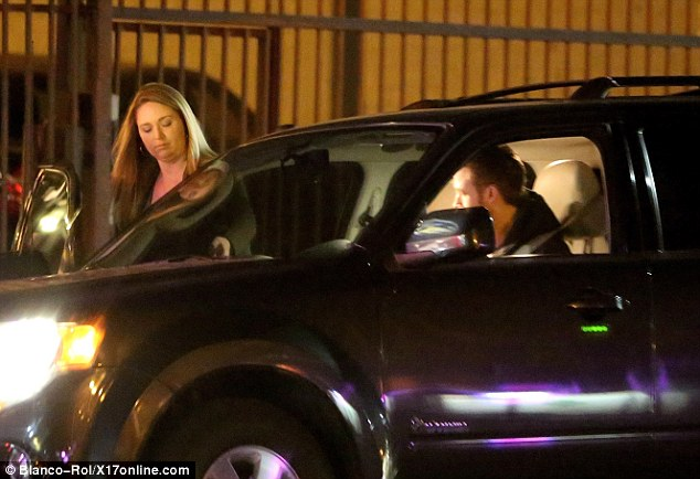 What a gent! Ryan Gosling picked up a his sister Mandi in his car on Saturday