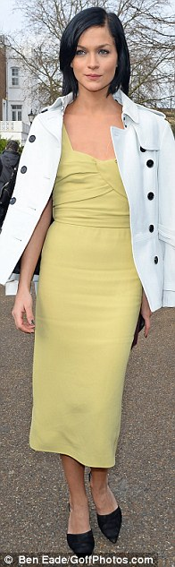 Standing out: Felicity Jones, Paloma Faith and Leigh Lezark dressed to impress for the occasion