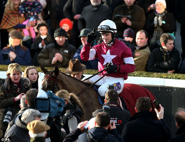 Hopes: Fenton trained Ireland's leading contender for Cheltenham Gold Cup