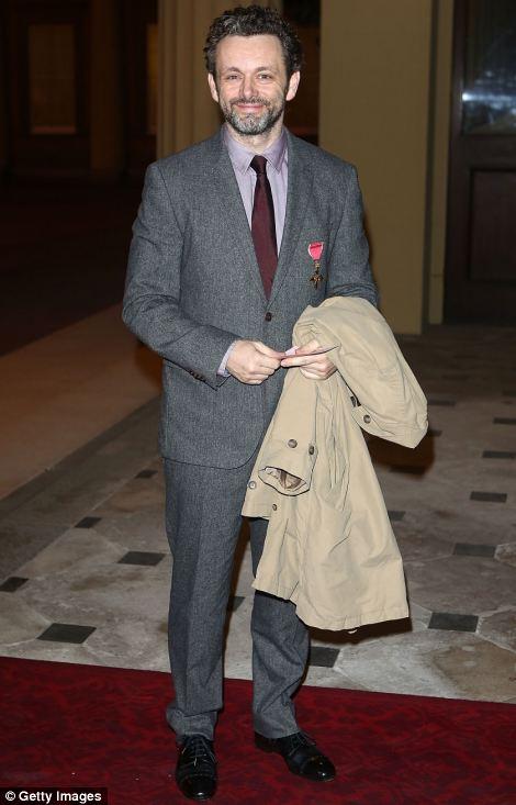 Michael Sheen attends a Dramatic Arts Reception at Buckingham Palace