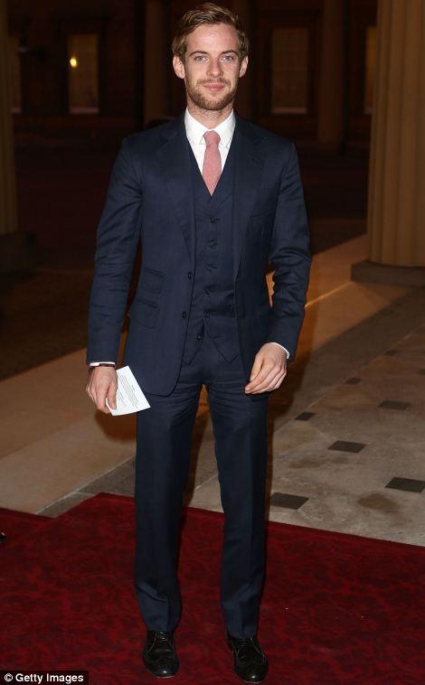 Luke Treadaway attends a Dramatic Arts Reception at Buckingham Palace