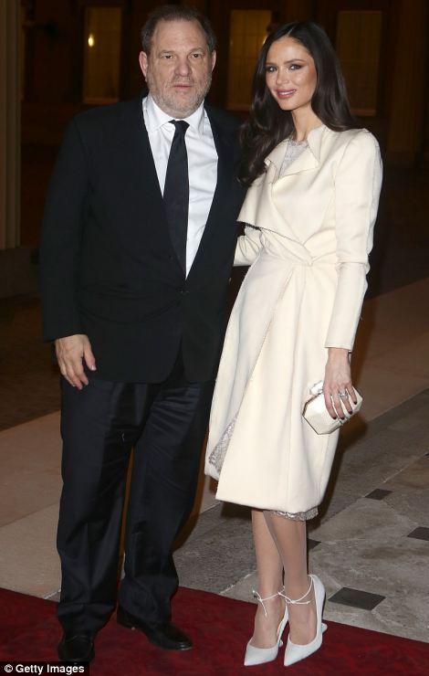 Harvey Weinstein and Georgina Chapman attend a Dramatic Arts Reception