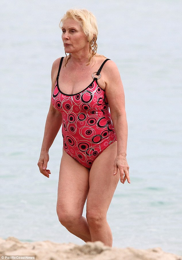 In perfect shape: At 68, Debbie is looking great, with toned legs and a self-confident attitude