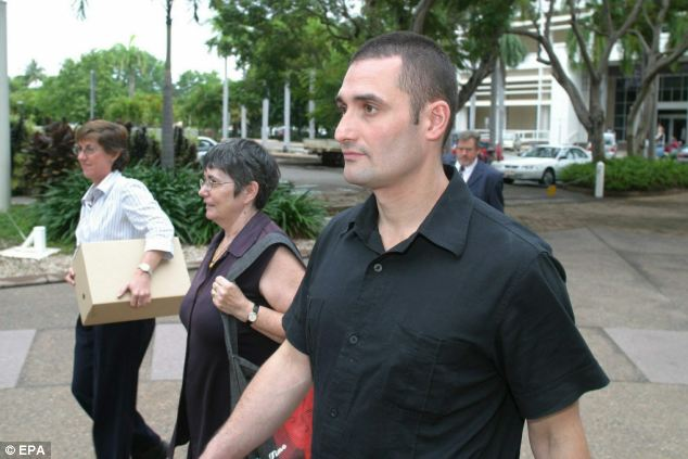 Paul Falconio (above), brother of the murdered Peter Falconio attended the 2004 committal hearing of the man who shot his brother and then disposed of the body in the outback