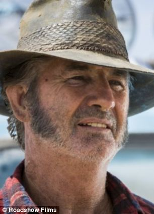 John Jarratt as Mick Taylor, the outback killer character based on a composite of serial killer Ivan Milat and Bradley Murdoch, whose murder of British tourist, Peter Falconio and terrorising of Falconio's girlfriend, Joanne Lees, who escaped,are recreated in the new film Wolf Creek 2