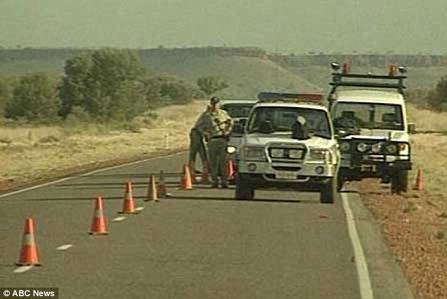 Bradley Murdoch denied stopping Britons Joanne Lees and Peter Falconio on a central Australian highway (above), but a jury found him guilty and it later emerged he was an outback drug runner with a violent history