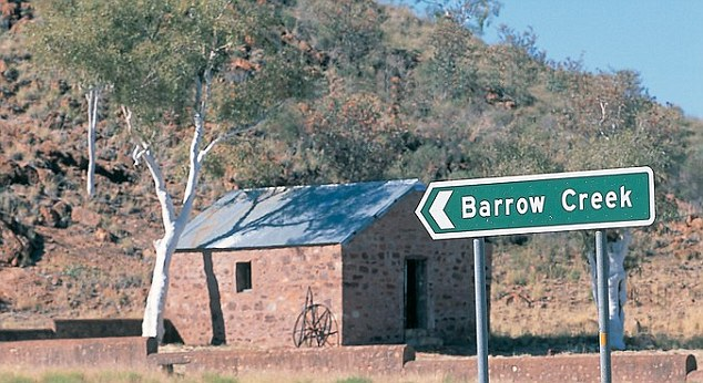 The real Barrow Creek, Northern Territory, scene of horrific events in July 2001, which form the basis of the story told in new Australian horror film, Wolf Creek 2