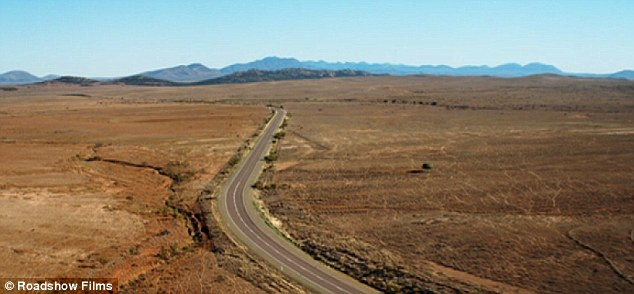 Filmed in the Flinders Rangers, in a desert region of South Australia (above), Wolf Creek 2 focuses on the potential loneliness and terror of the Australian outback