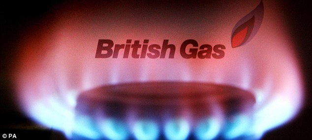 Big hit: Centrica saw shares drop more than 3 per cent at one stage after UBS slapped it with a 'sell' rating.