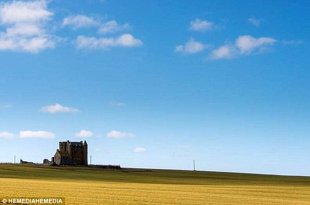 She said she bought the 460-year-old remote castle to 'disconnect' from her busy lifestyle, even though she has yet to visit it