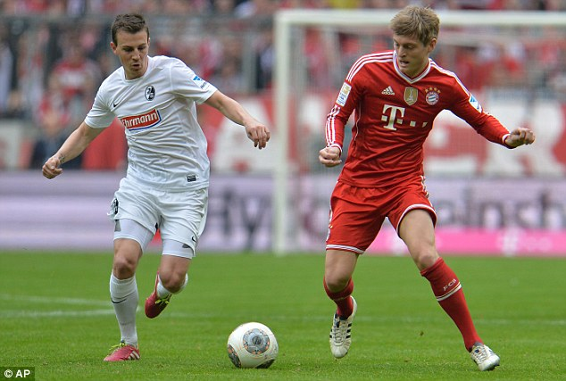 Legacy: Babbel believes current players such as Toni Kroos (right) and Phillip Lahm can become club legends