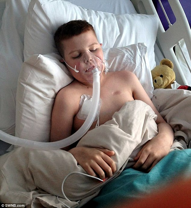 After undergoing four unsuccessful bone marrow transplants his parents were told the treatment had failed and he was unlikely to survive longer than 50 days