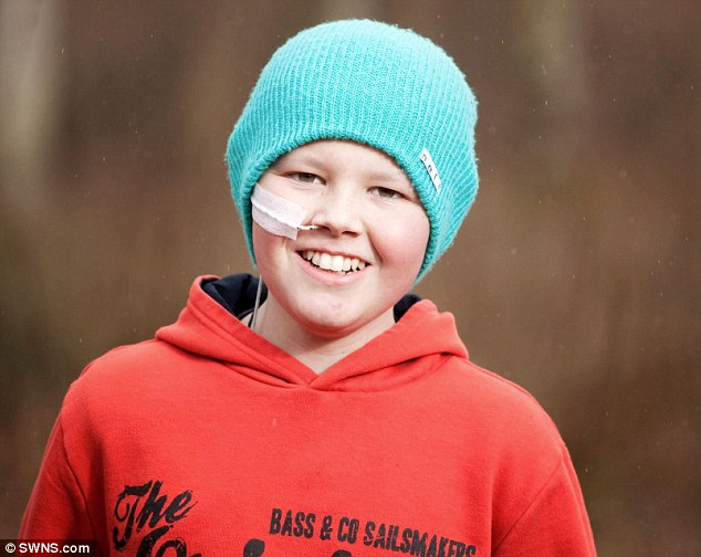 Deryn Blackwell was given just days to live after becoming the only boy in the world with two forms of cancer. But he has now baffled doctors by making a miraculous recovery