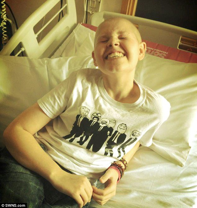 Deryn's mother Callie said: 'The doctors have told us they now see no reason that Deryn should have to worry any more'