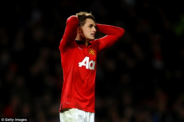 Headache: The United winger is wanted by England but has several international options