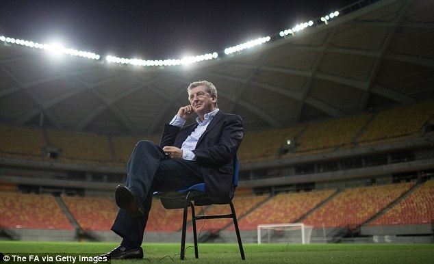 Waiting for the call: England boss Roy Hodgson is a confirmed admirer of the talented youngster