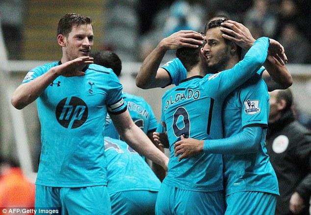 European tour: Tottenham face Dnipro in the Europa League last 32 on Thursday