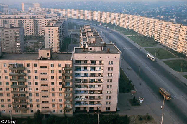 Bleak: Dnepropetrovsk is a grim place to visit and there isn't much sightseeing to be done