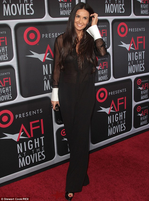 Still got it: At 51-years-old Demi Moore still looks incredible