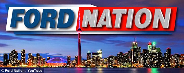 Straight to YouTube: Last year the Sun News Network cancelled a Ford Nation TV show after one episode after complaining it took five hours to shoot and over 10 hours to edit
