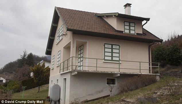 The second home of Eric Devouassoux. The prosecutor said there was 'no immediate link' between either of the two men held and the four victims