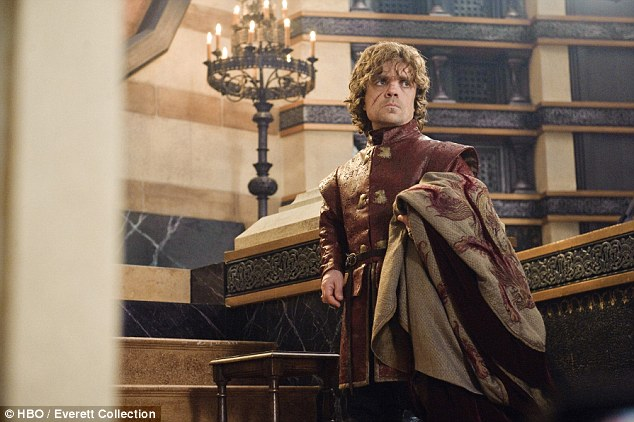 Fatal glance: Peter Dinklage, who plays Tyrion Lannister on HBO series Game of Thrones, says a motorcyclist died after getting distracted staring at him on a street in Los Angeles