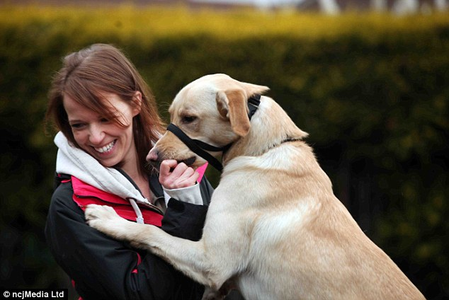 Forgiven: Miss Campbell thanked her dog walker, who saw the smoke when she came to collect Martey