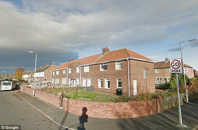Location: Miss Campbell and Mr Wheatley's house is believed to be on this road (file picture) in Tyne and Wear