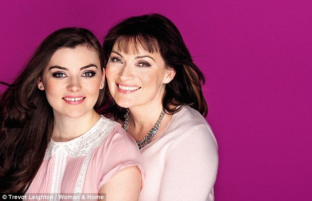 'Desperate to be with her': Daybreak presenter Lorraine Kelly said last year that she 'suffered terribly from working mother guilt'