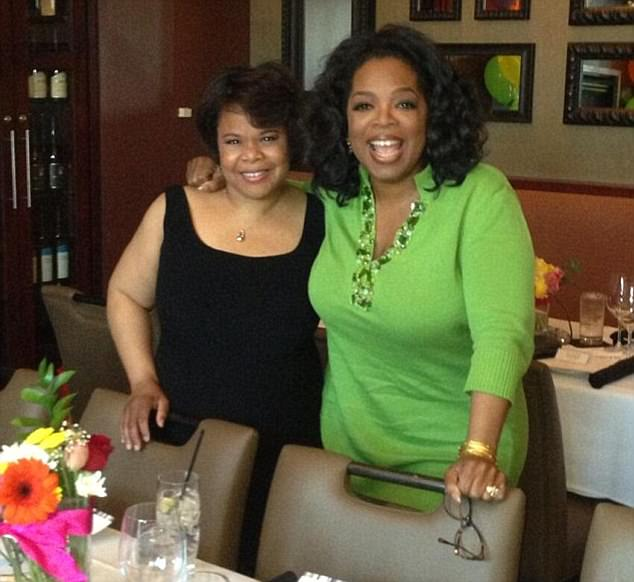 Oprah Winfrey bought her half-sister Patricia Lofton (pictured left) a $490,000 home in Wisconsin and is paying for her to go back to college
