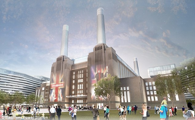 For sale: More than 250 apartments and townhouses built within the iconic Battersea Power Station are set to go on the market on May 1