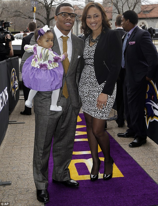 Rice has been dating Palmer since 2008 and the pair have a daughter, 2-year-old Rayven