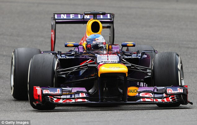 Unappealing: Ecclestone has recently said that Vettel's dominance has taken 50 million viewers away