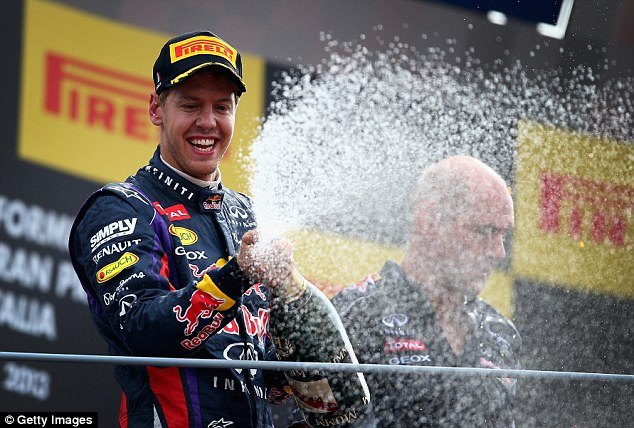 Best of the grid: Sebastian Vettel is the current World Champion having won the last four years
