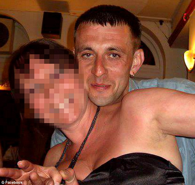 No ban: Keith Baldock, of Herne Bay, Kent, is believed to be the only driver in Britain to be legally on the road despite having more than 50 points on a licence. He is pictured here with an unknown woman