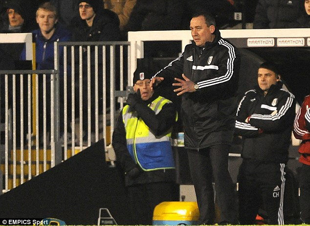 Ousted: But Felix Magath said the atmosphere at the club under Rene Meulensteen had to change