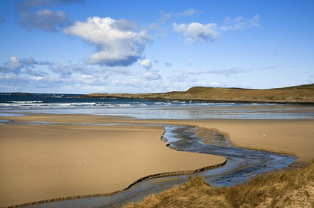 Dramatic: Islay is as famed for its whisky distilleries as it is for its stunning landscapes and abundant wildlife