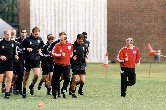 Teaming up again: Keegan and Wilkins were re-united at Fulham in the late 1990s