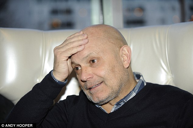 Opening up: Former Fulham coach Ray Wilkins discusses his battle with bowel illness ulcerative colitis
