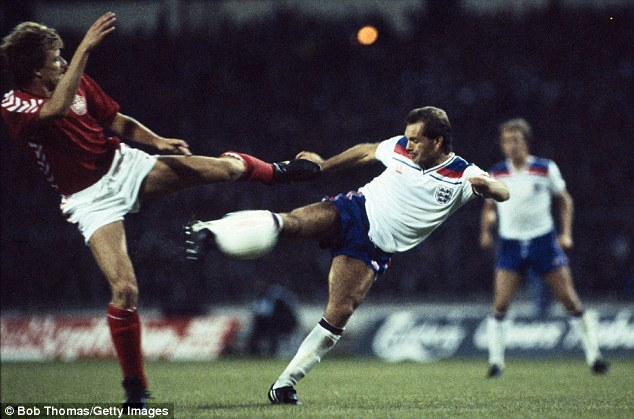 International honours: Wilkins won 84 caps for England during the 1970s and 80s
