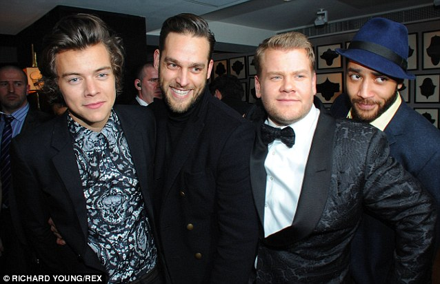 After the party was the after party: James was spotted out at the Sony Music After party on Wednesday night