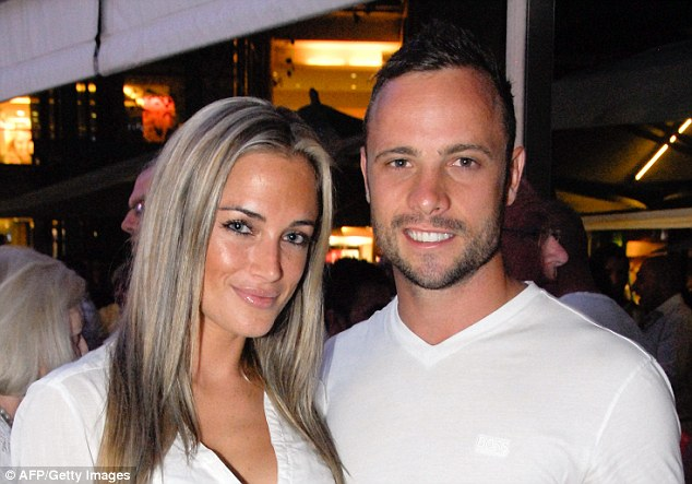 Killed: Oscar Pistorius will stand trial on March 3 for murdering his girlfriend n Valentine's Day