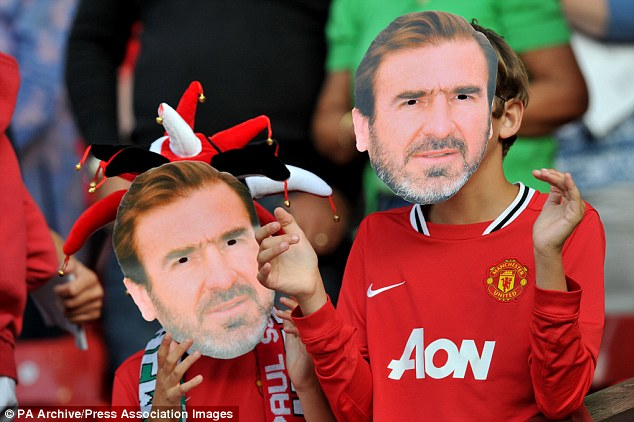 Masked man: Fan want to wear Eric Cantona masks at the Palace game