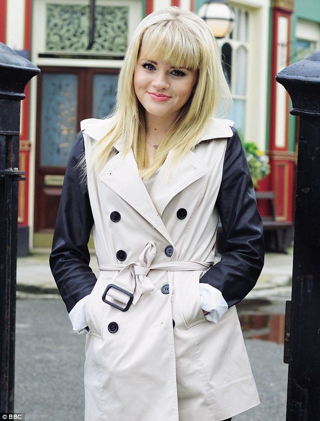 End of an era: Lucy Beale, played by Hetti Bywater, 20, will make dramatic exit at Easter in gripping storyline set to span a year