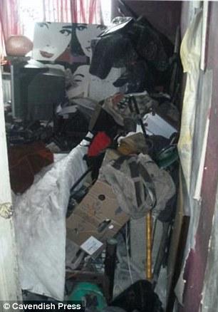 Gross: Hoarded goods inside the home