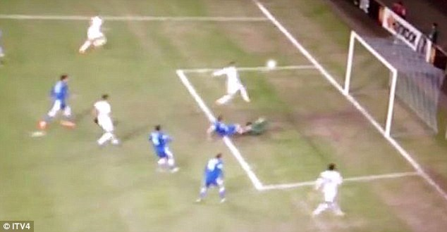 Oops! Paulinho squared to the Spurs striker on Thursday but he somehow contrived to miss