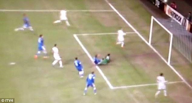 Not the best: Soldado ballooned over the bar as Tottenham got beat 1-0 away in Ukraine