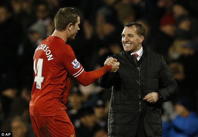 Anything can happen: Rodgers' side are just four points off the top and have a good run-in of fixtures