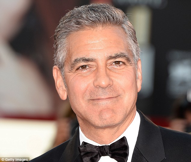 Canadian researchers discovered that men who use shorter words and speak more concisely, dubbed 'silent types', are more attractive to women because the trait is associated with masculinity. Silent types who also have deep voices, such as Hollywood actor George Clooney, pictured, were considered most attractive