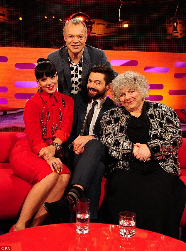 The Irish presenter is joined by Lily, Dominic and Miriam on The Graham Norton Show on Friday 21 February